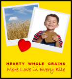 Hearty Whole Grains: More Love in Every Bite